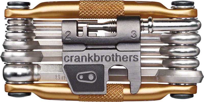 Crank Brothers Multi-17 Tool: Gold