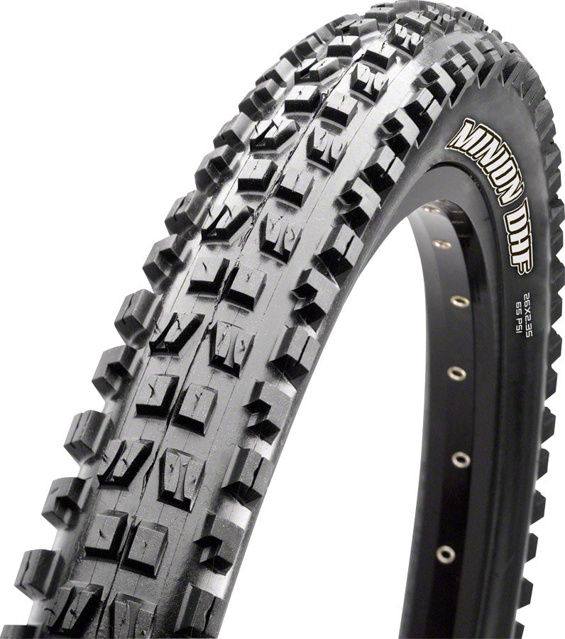 Maxxis Minion DHR II Tire 27.5 x 2.80, Folding, 120tpi, 3C MaxxTerra Compound, EXO+ Protection, Tubeless Ready, Black