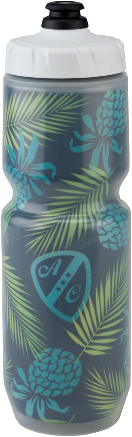 All-City Insulated Purist Water Bottle: 23oz, MoFlo Cap