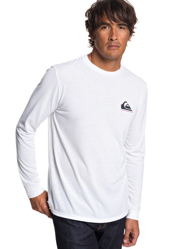 Quiksilver Waterman Nicest Way to Fish Technical Long Sleeve Tee - Men's