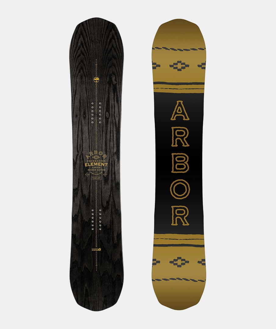 Arbor Element Black Rocker Snowboard