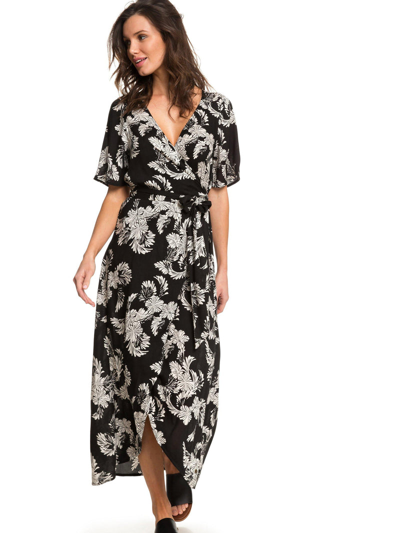 Keep The Seas Wrap Maxi Dress -  Women's