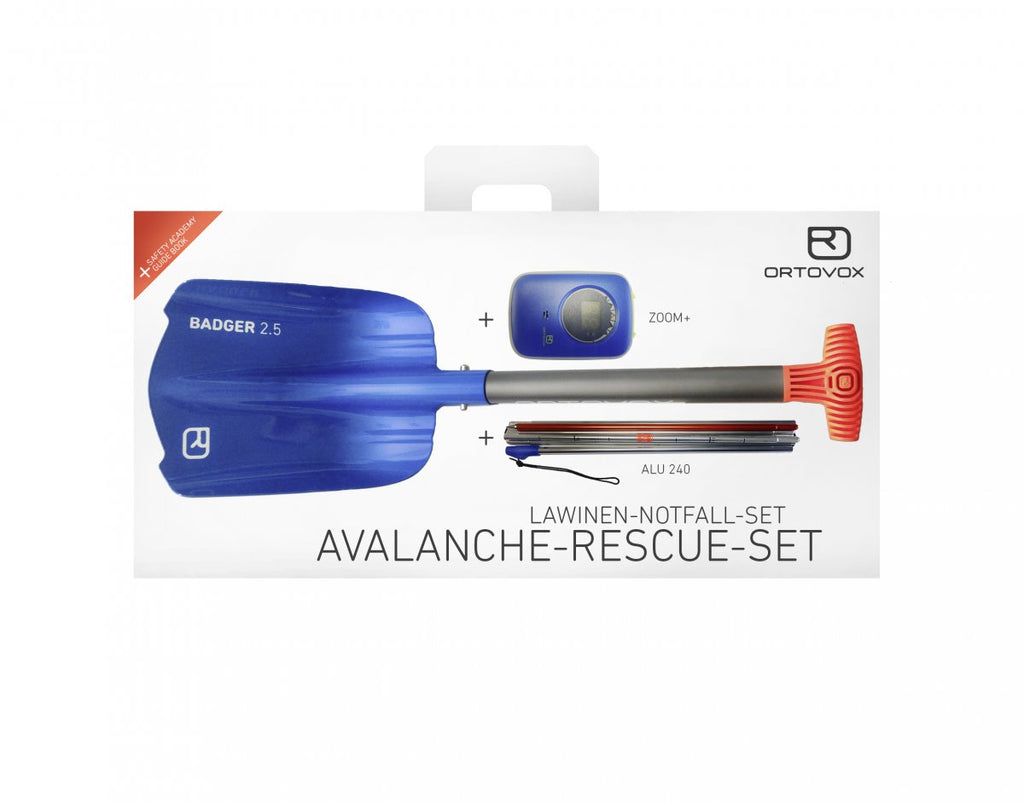 Ortovox Avalanche Rescue Kit Zoom+ [beacon, shovel, probe]