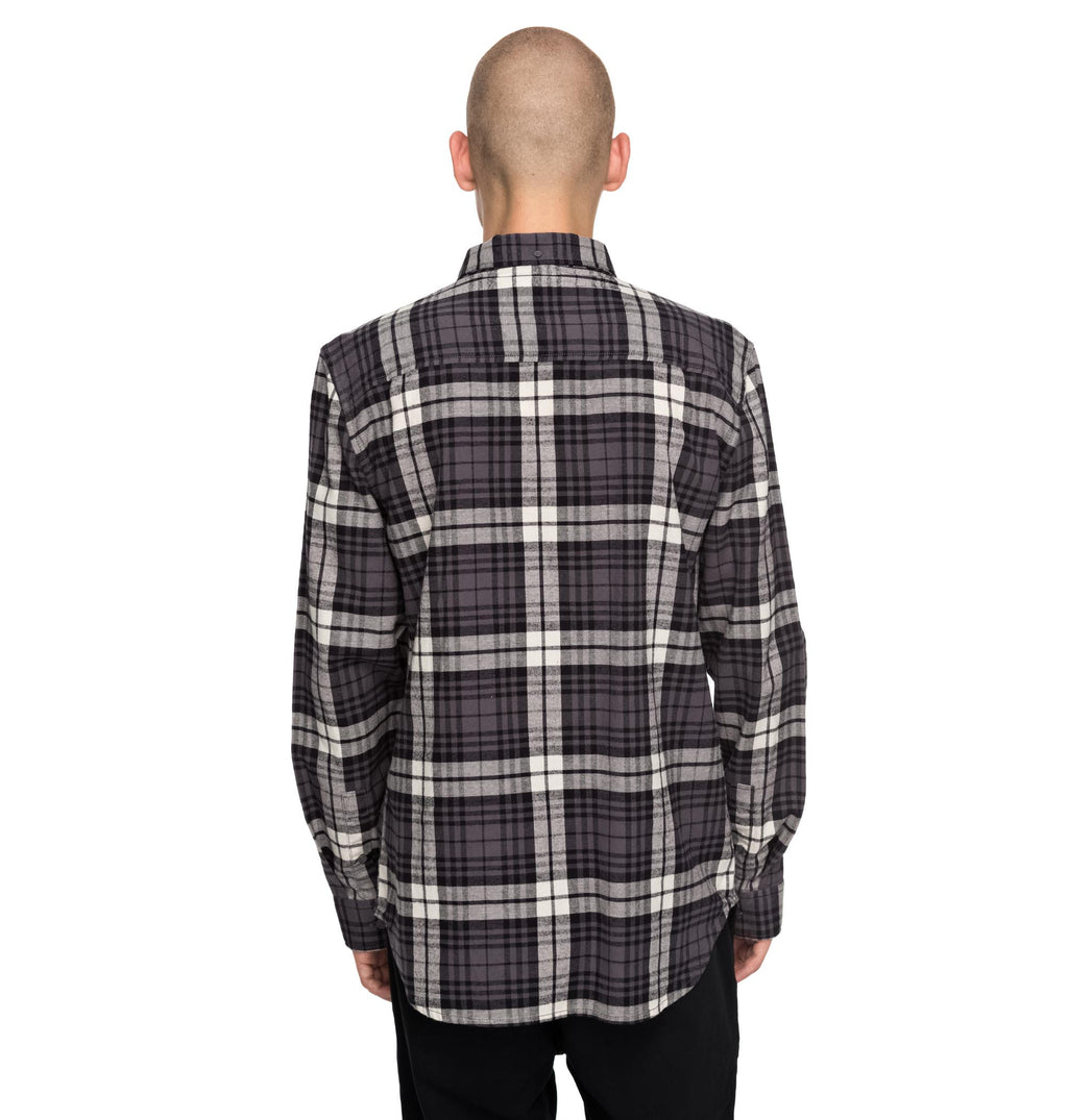 DC Mens South Ferry Long Sleeve Flannel Shirt