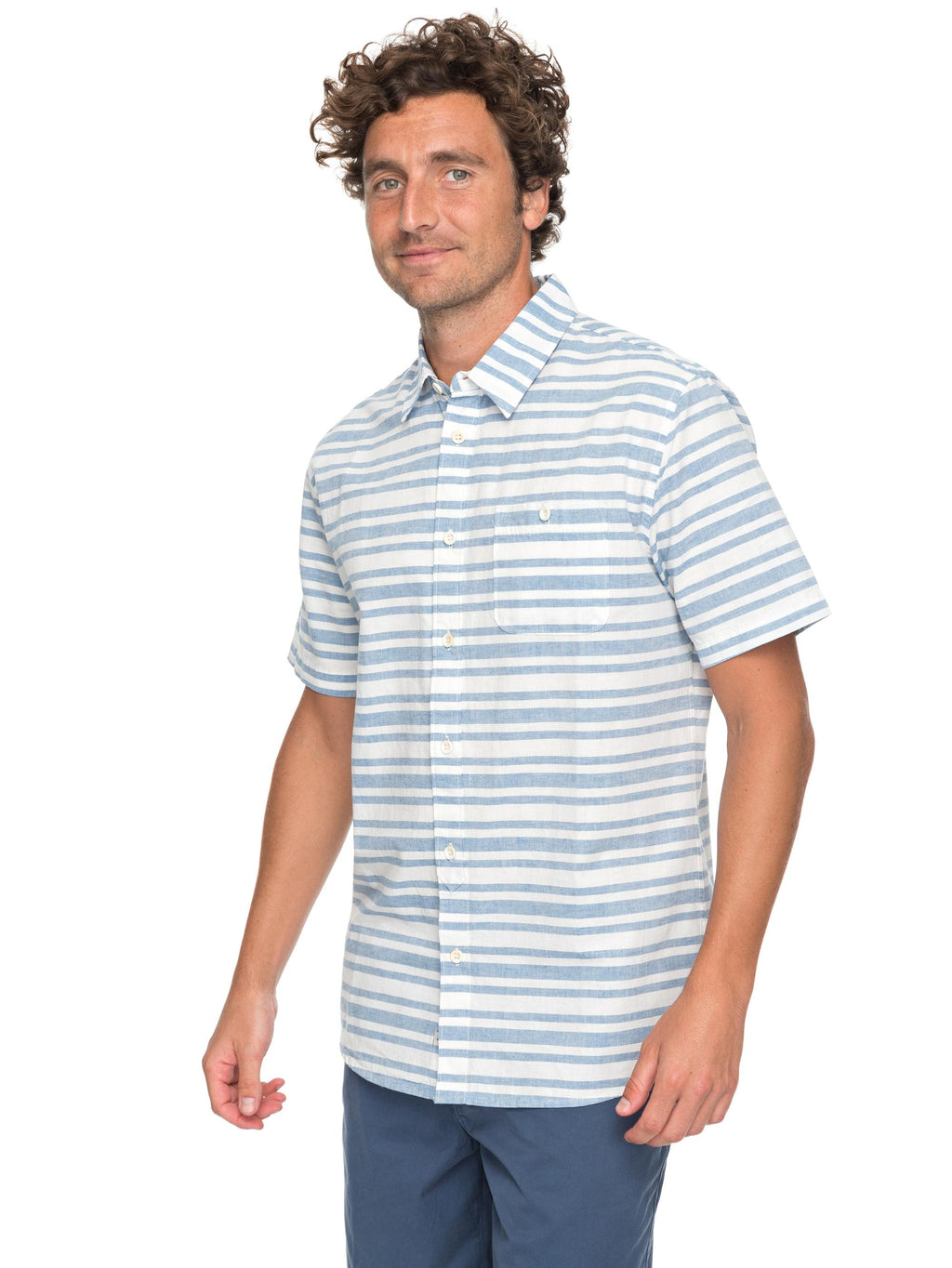 Quiksilver Waterman Flying First Short Sleeve Shirt - Men's