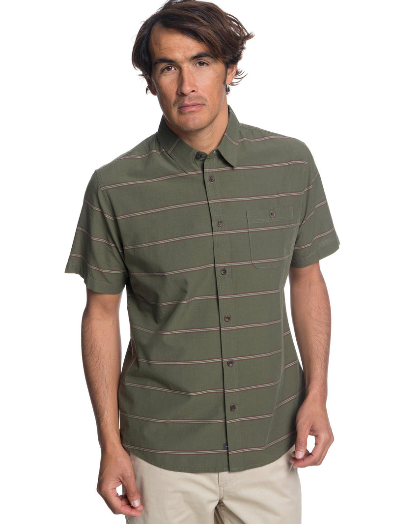 Quiksilver Waterman Last Dawn Short Sleeve Shirt - Men's