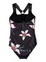 Roxy Fitness Sporty One-Piece Swimsuit -  Women's