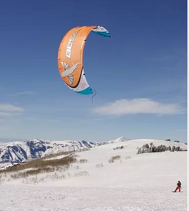 Introduction to Kiteboarding - Snowkiteboarding