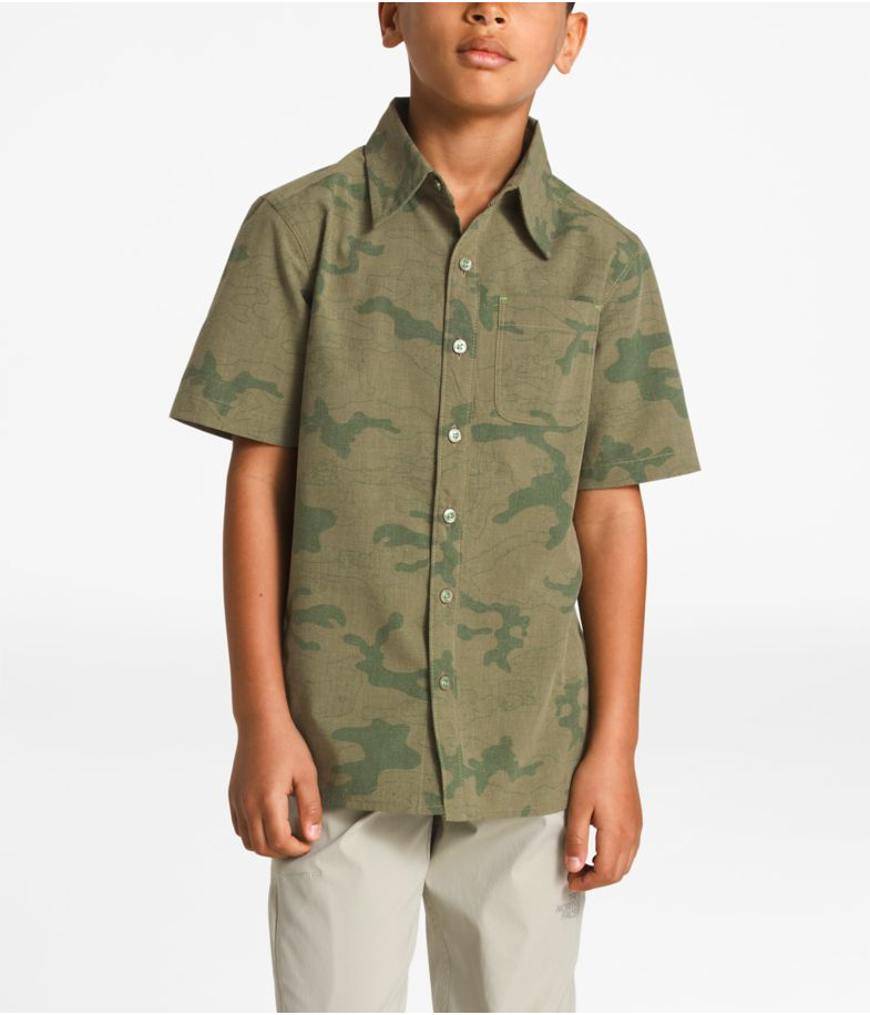 The North Face Short Sleeve Pursuit Shirt - Boys'