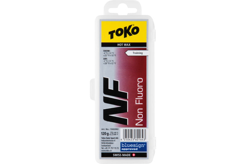 Toko Non-Flouro Hot Wax for Skis and Snowboards, 120 g