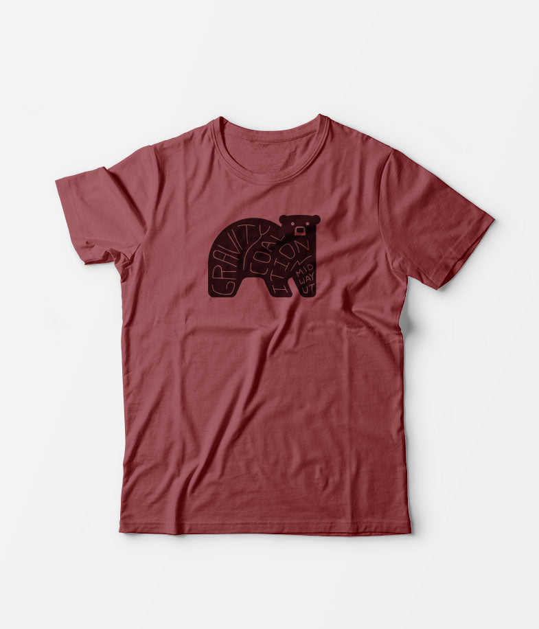 Gravity Coalition Word Bear Tee Shirt - Men's