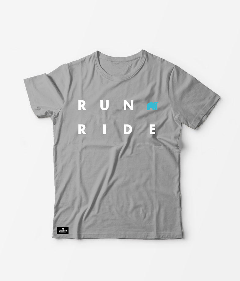 Gravity Coalition RUN+RIDE Tee Shirt