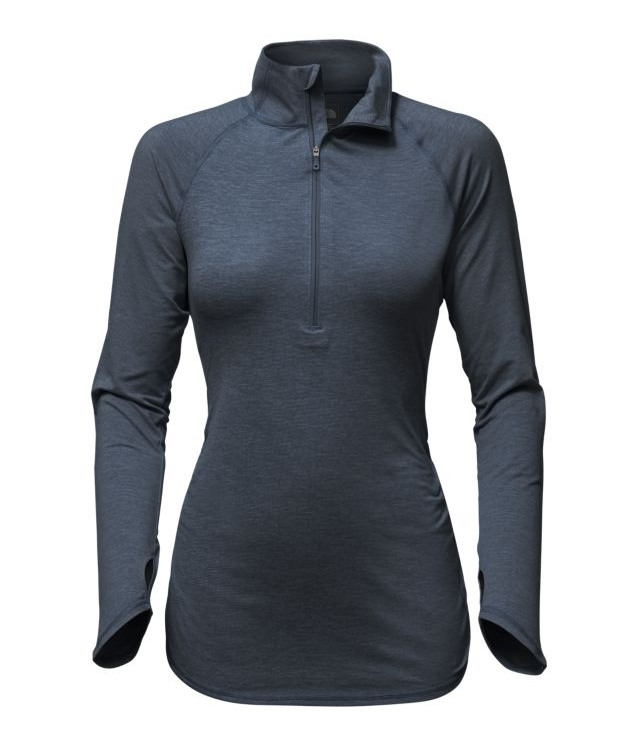 Motivation Stripe 1/2 Zip - Women's
