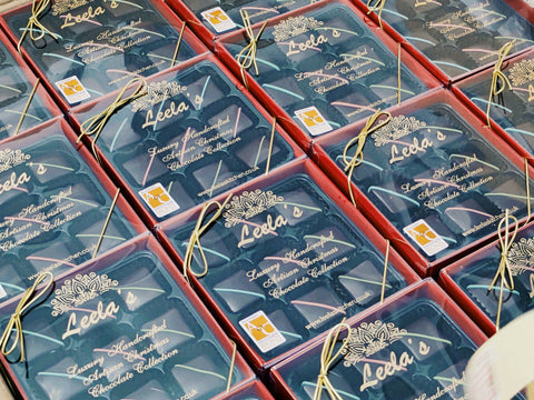 SOLD OUT - Leela's 2020 luxury handcrafted artisan Christmas chocolate collection