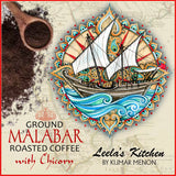 Malabar ground coffee with chicory (200g)