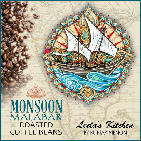 Monsoon Malabar coffee beans (200g) - Arabica 100%
