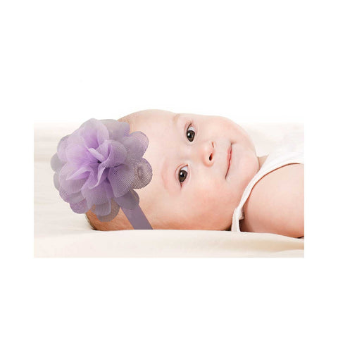 Tulle Headbands Model