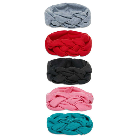 Felt-astic Bow on Nylon Headband 16 Piece Set