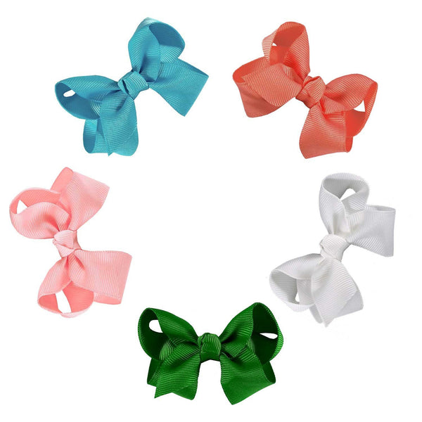Interchangeable 10 Piece Bow and Headband Set - ZeldaMatilda.com