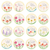 Watercolor Flowers Milestone Stickers - ZeldaMatilda.com