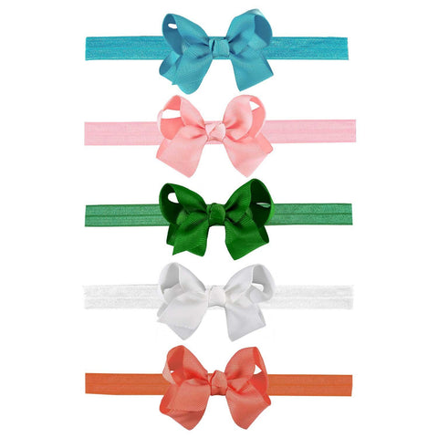 Interchangeable 40 Piece Bow and Headband Set