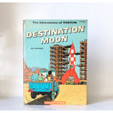 The Adventures of TINTIN : Destination Moon by Herge ; translated by Daniele Gorlin