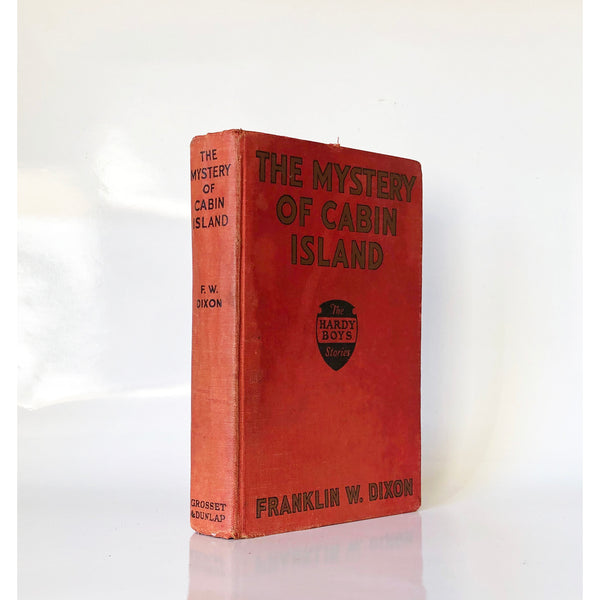 The Mystery of Cabin Island by Franklin Dixon ; Illustrated by Walter S. Rogers