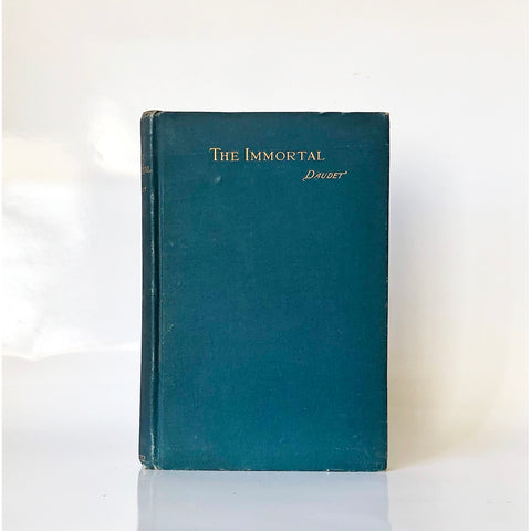 The immortal by Alphonse Daudet ; Translated From the French by J. M. Percival
