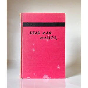 Dead Man Manor by Valentine Williams