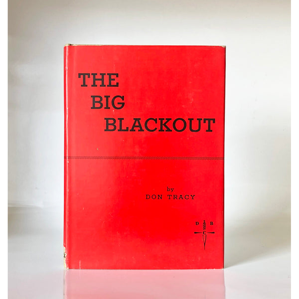 The Big Blackout by Don Tracy