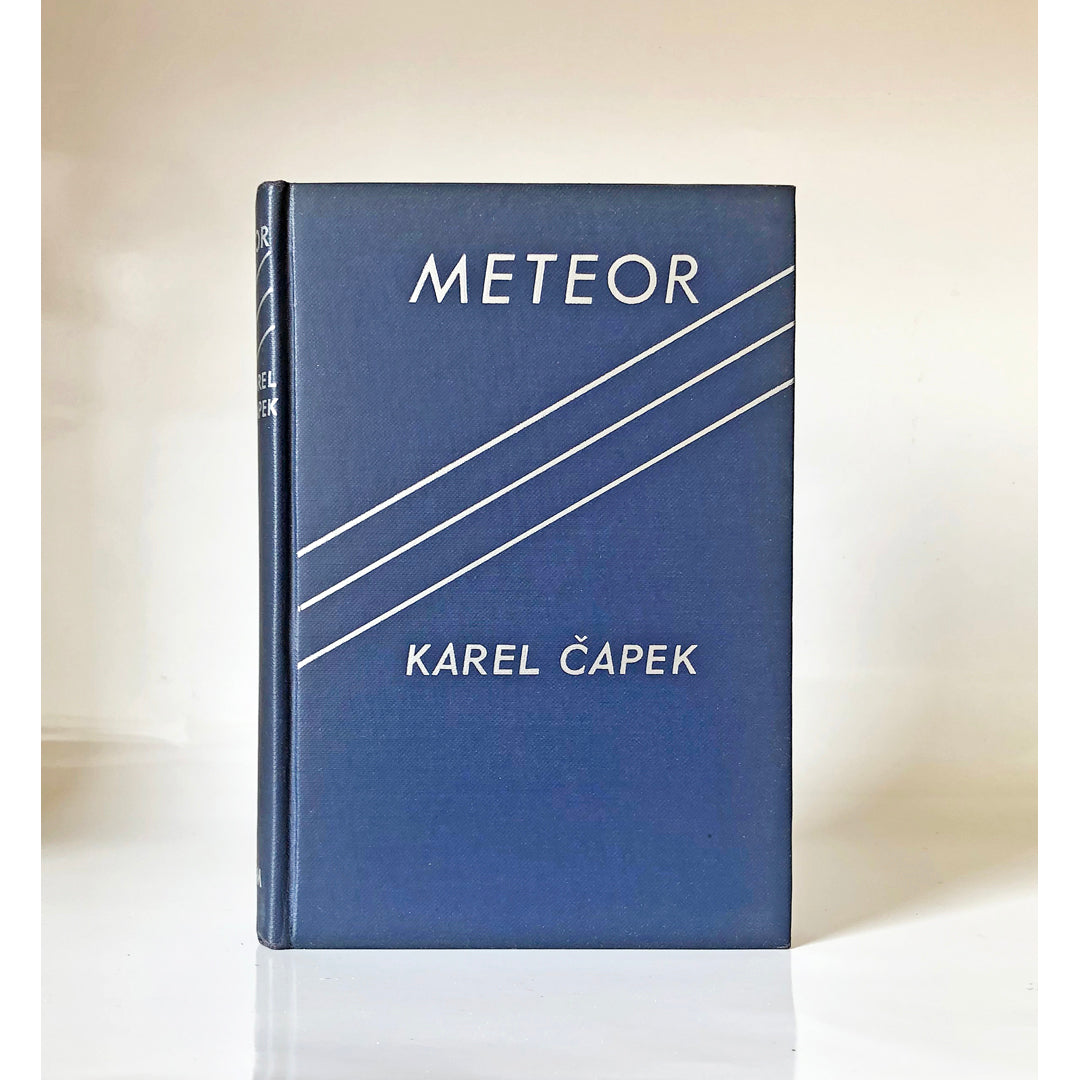 Meteor by Karel Capek ; translated by M. & R. Weatherall