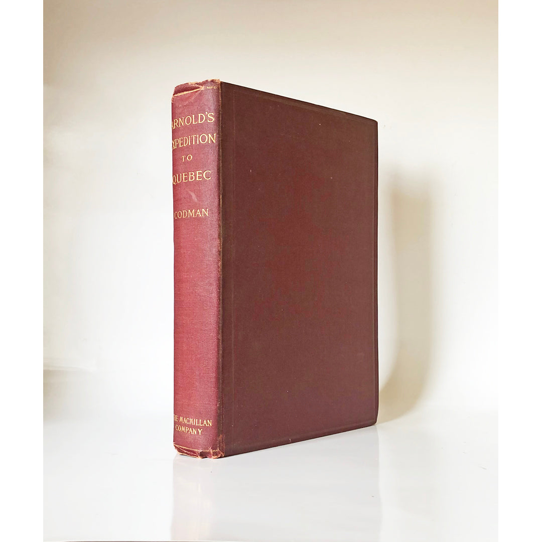 [Benedict] Arnold's expedition to Quebec by John Codman, 2nd