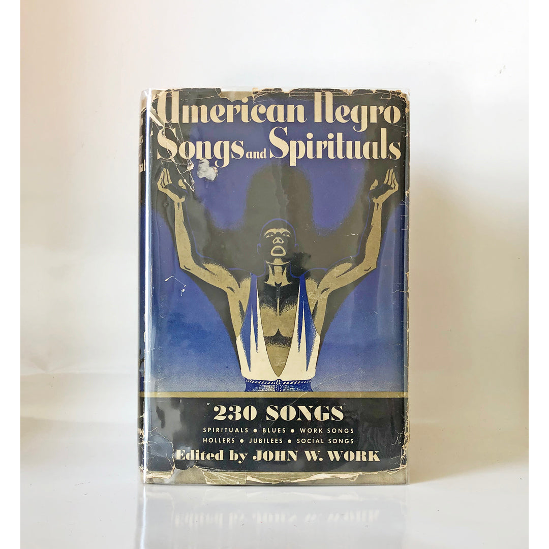 American Negro songs and spirituals : a comprehensive collection of 230 folk songs, religious and secular by John W. Work