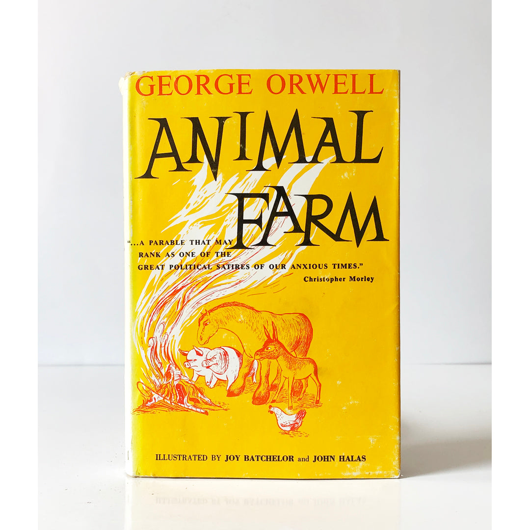 Animal Farm By George Orwell Illustrated By Joy Batchelor And John Halas 1954 Ebay