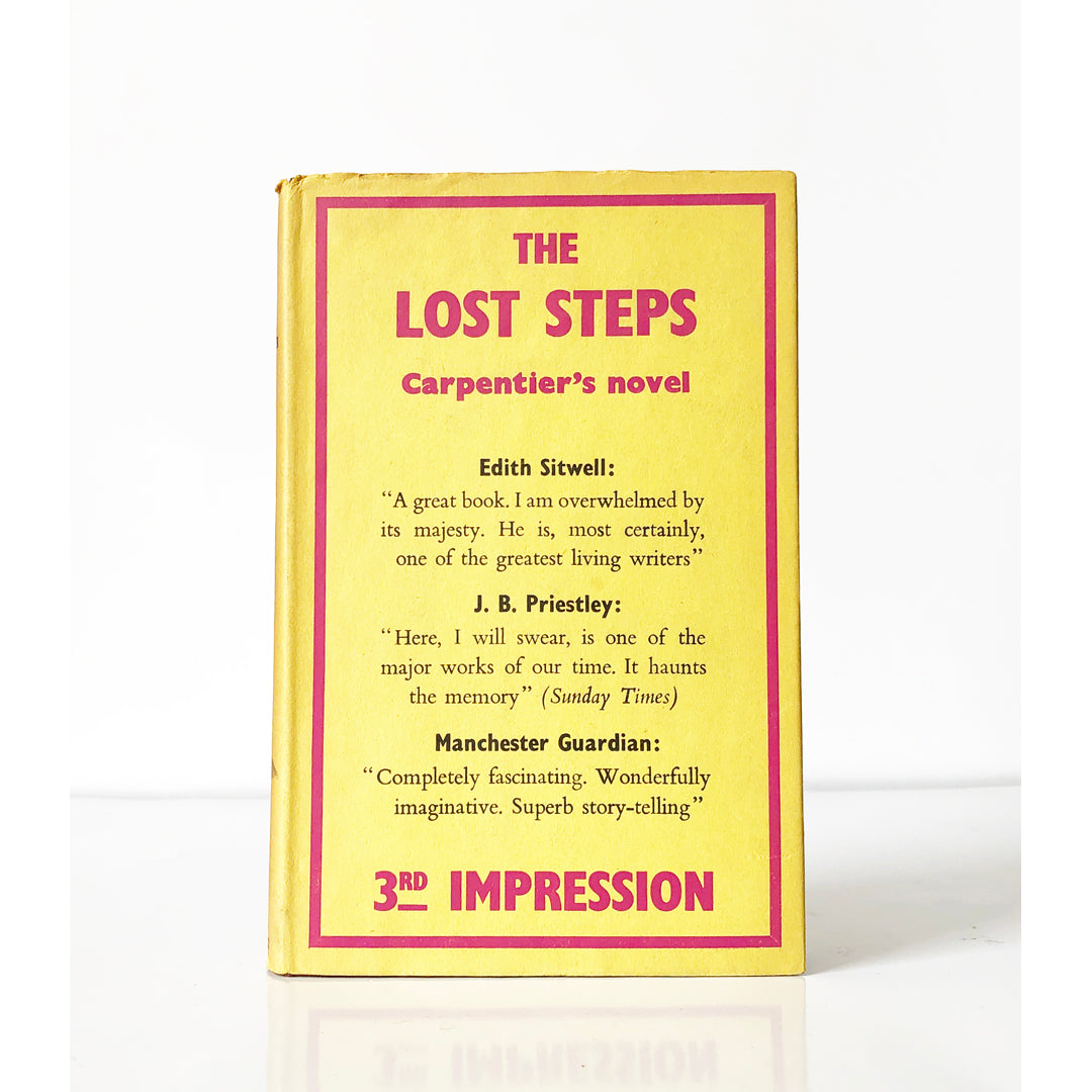 The Lost Steps by Alejo Carpentier ; translated from the Spanish by Harriet de Onis