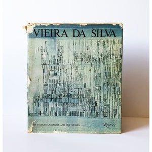 Vieira da Silva by Jacques Lassaigne and Guy Weelen ; Translated by John Shepley