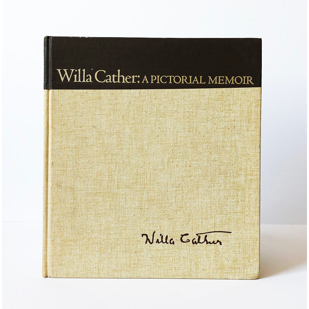 Willa Cather : A pictorial memoir ; photographs by Lucia Woods and others ; Text by Bernice Slote