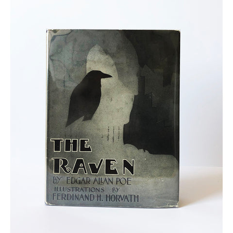 The Raven together with the philosophy of composition by Edgar Allan Poe ; illustrated by Ferdinand Huszti Horvath