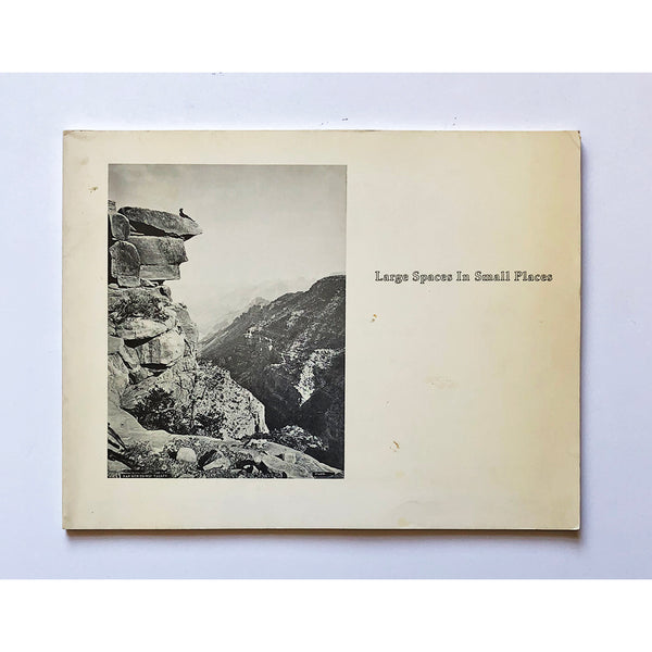 Large spaces in small places a survey of western landscape photography, 1850-1980 by Harvey Himelfarb and Roger D. Clisby