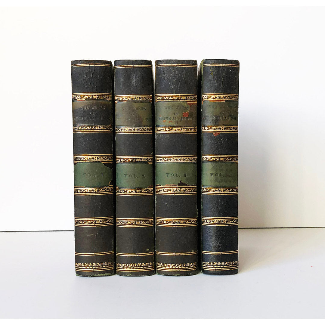 The Works of the Late Edgar Allan Poe with a Memoir by Rufus Wilmot Griswold ; and Notices of his life and genius by N.P. Willis and J.R. Lowell. (A New collected edition in four volumes)
