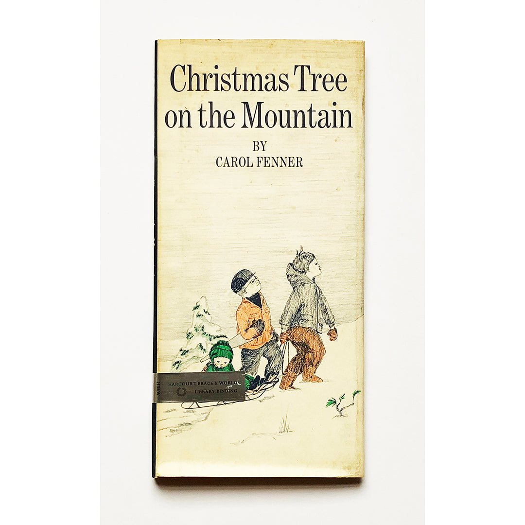 Christmas Tree on the Mountain by Carol Fenner
