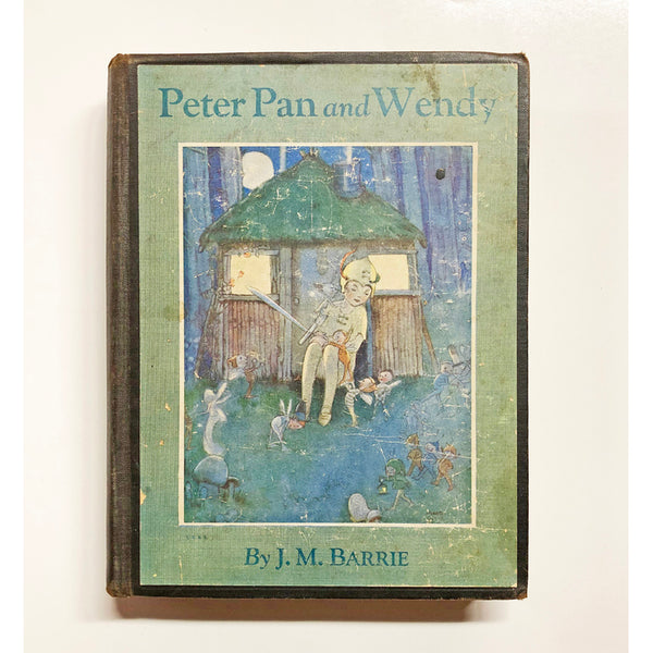 Peter Pan and Wendy by J.M. Barrie ; retold by May Byron for little people with the approval of the author ; pictures by Mabel Lucie Attwell.
