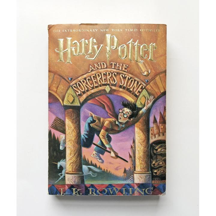 Harry Potter and the Sorcerer's Stone by J.K. Rowling ; Illustrations by Mary GrandPre