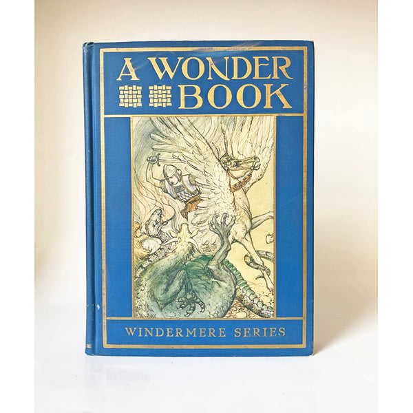 A Wonder Book for Girls and Boys by Nathaniel Hawthorne with illustrations by Milo Winter (The Windermere Series)