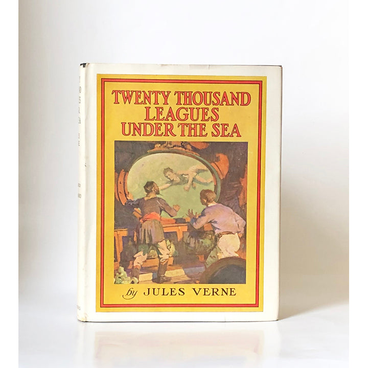Twenty Thousand Leagues Under the Sea by Jules Verne with illustrations by W.J. Aylward