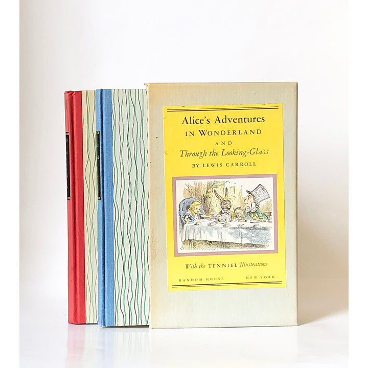 Alice's Adventures in Wonderland and Through the Looking-Glass by Lewis Carroll with illustrations by John Tenniel