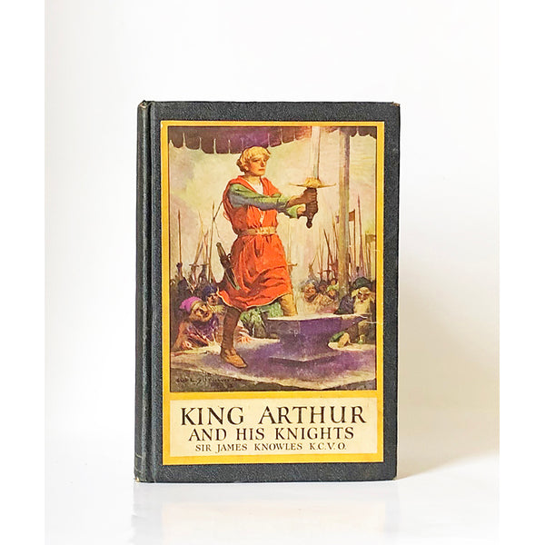 King Arthur and his Knights compiled and arranged by Sir James Knowles, K.C.VO. With illustrations by Louis Rhead
