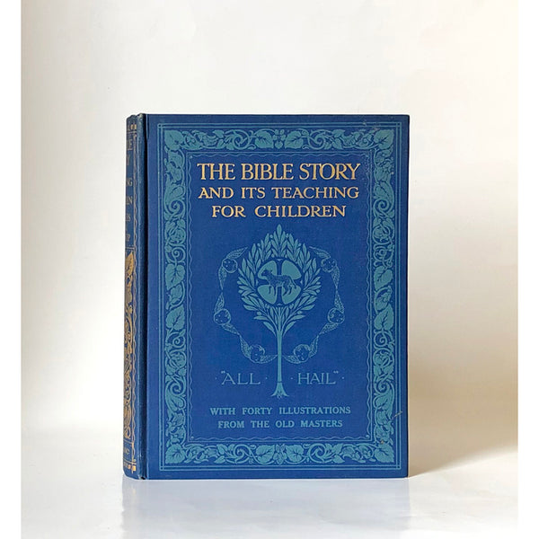 The Bible Story and its teaching for children by Baroness Freda de Knoop with forty coloured illustrations
