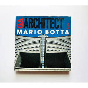 GA ; Architect ; Mario Botta with introduction by Christian Norberg-Schulz ; Text by Mirko Zardini ; edited and photographed by Yukio Futagawa