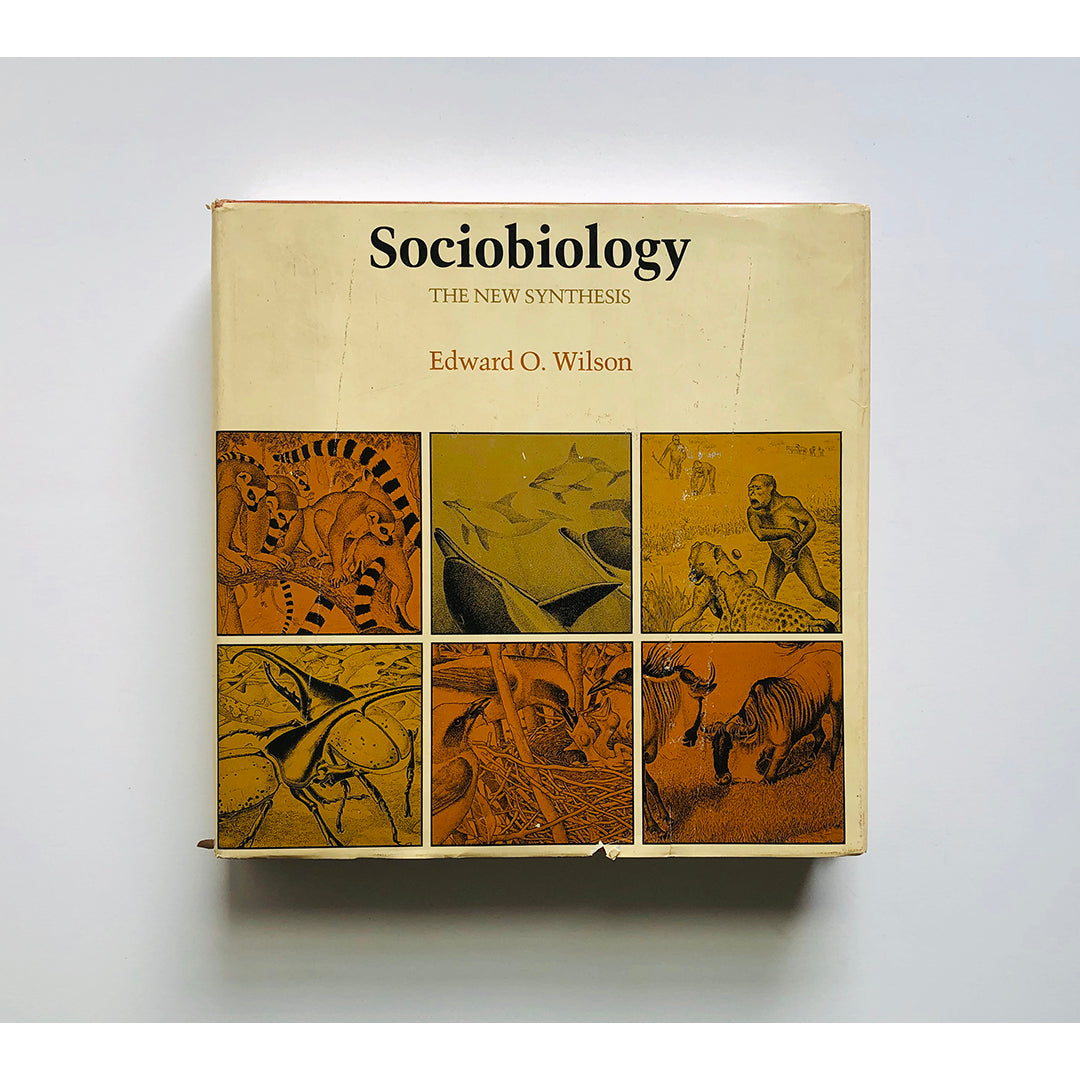 Sociobiology: The New Synthesis by Edward O. Wilson